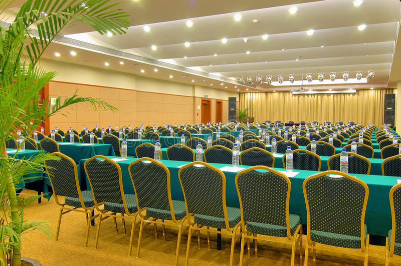 Hotel conference room Photo royalty free stock image