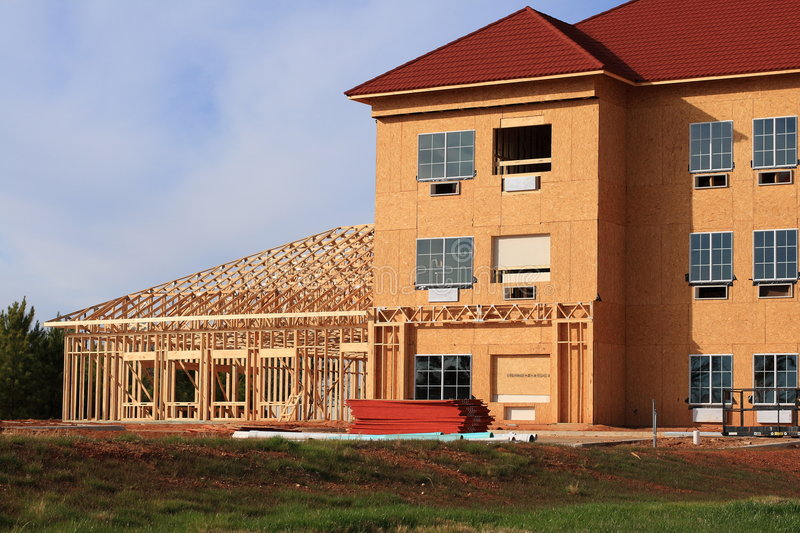 Download Hotel Construction stock image. Image of hotel, lodging - 4224809