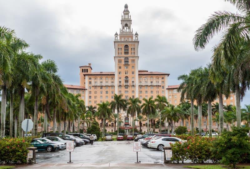 Hotel Coral Gables Florida de Biltmore imagens de stock