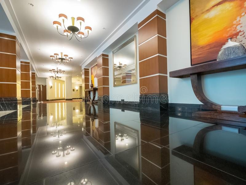 Hotel Corintia w Petersburgu, Rosja zdjęcia royalty free