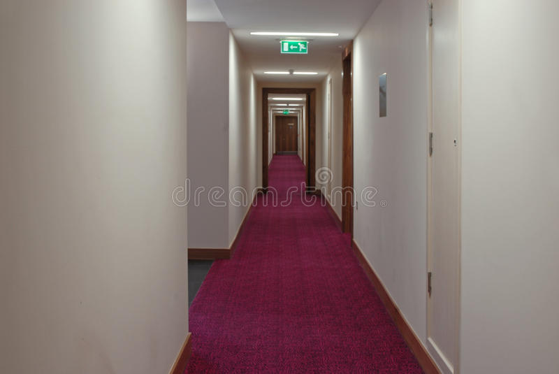 Download Hotel corridor stock image. Image of architecture, long - 10284553
