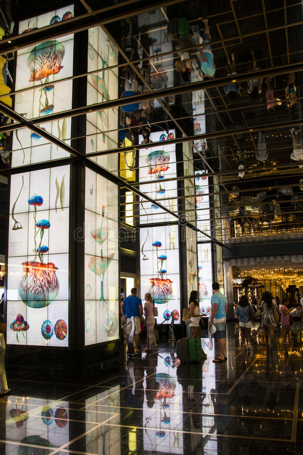 Hotel cosmopolita, Las Vegas imagem de stock royalty free