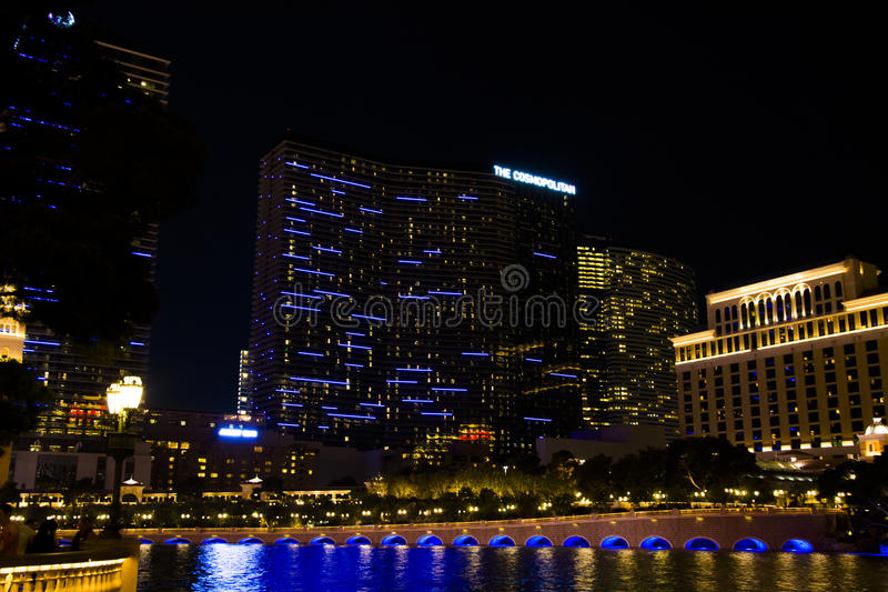 Hotel cosmopolita, Las Vegas fotografia de stock royalty free