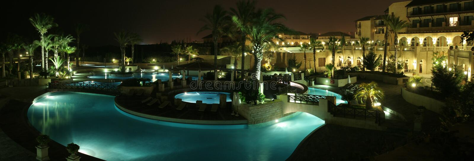 HOTEL IN CYPRUS royalty free stock photography