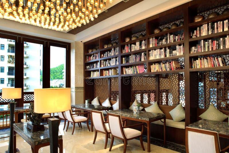 Hotel da corte de Sanya, mar de China quatro estações fotos de stock royalty free
