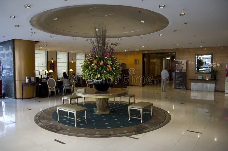 Hotel, das Restaurant speist lizenzfreies stockfoto