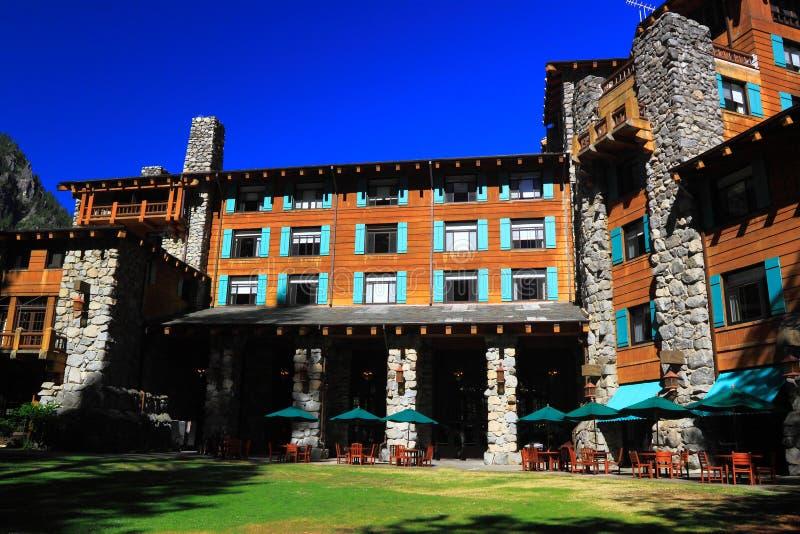 Hotel de Ahwahnee fotos de archivo