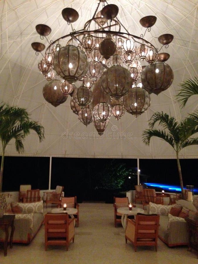 Hotel de Anguila imagen de archivo libre de regalías
