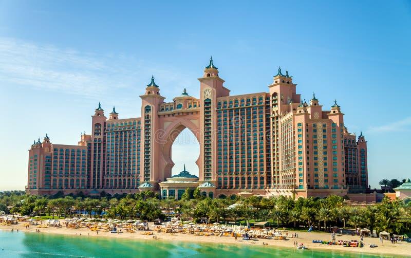 Hotel de Atlantis en Dubai imagen de archivo libre de regalías