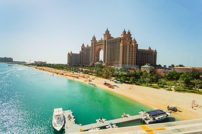 Hotel de Atlantis en Dubai, UAE imágenes de archivo libres de regalías