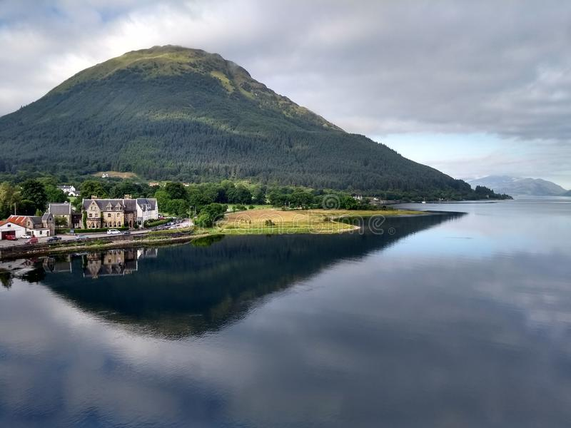 Hotel de Ballachulish fotografia de stock royalty free