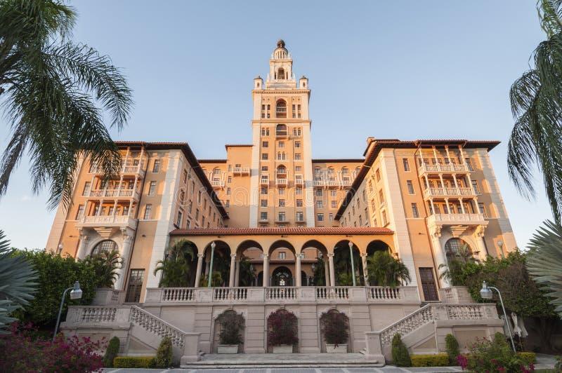 Hotel de Biltmore em Coral Gables, Florida fotografia de stock royalty free