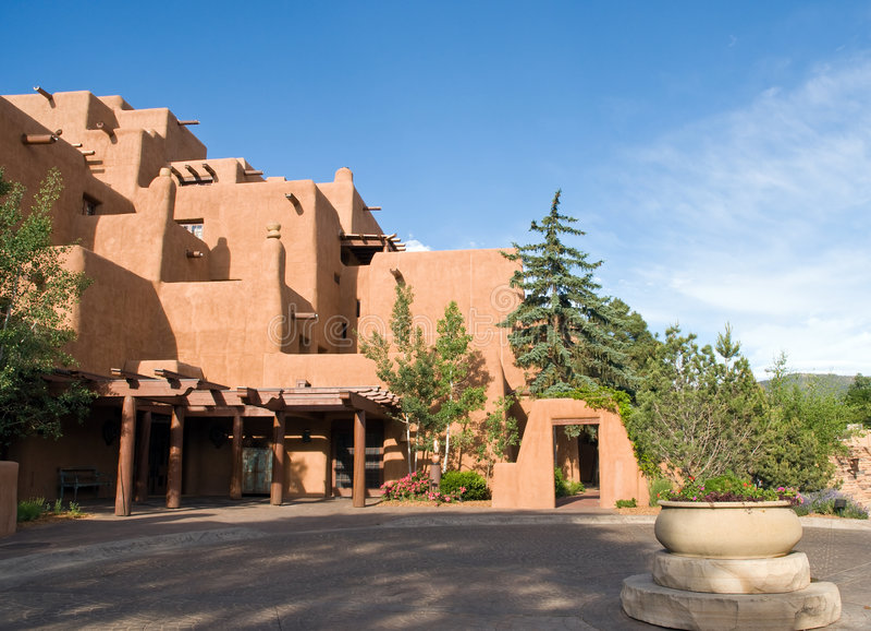 Hotel de centro turístico al sudoeste fotografía de archivo libre de regalías