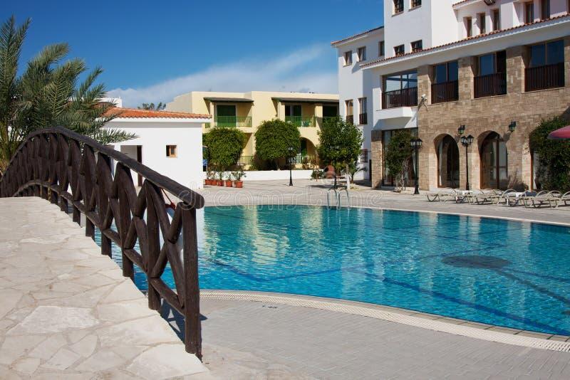 Hotel de Chipre foto de archivo libre de regalías