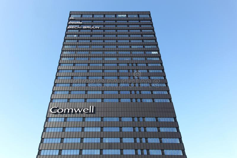 Hotel de Comwell en Aarhus, Dinamarca fotos de archivo