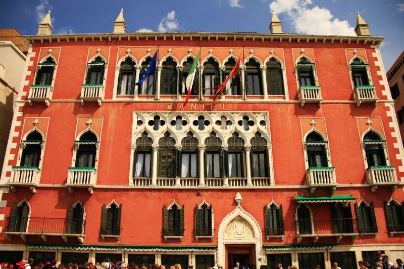 Hotel de Danieli en Venecia, Italia fotos de archivo