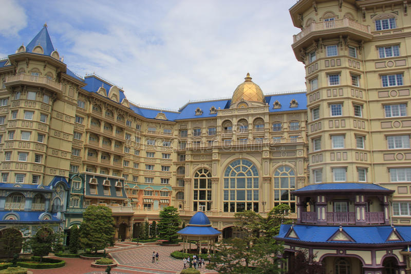 Hotel de Disneylândia do Tóquio fotos de stock