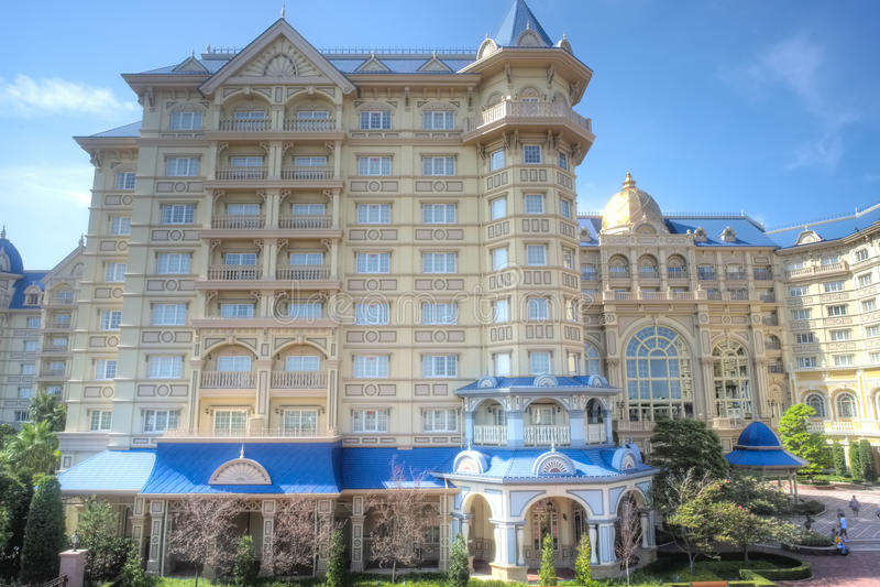 Hotel de Disneysea do Tóquio fotografia de stock royalty free