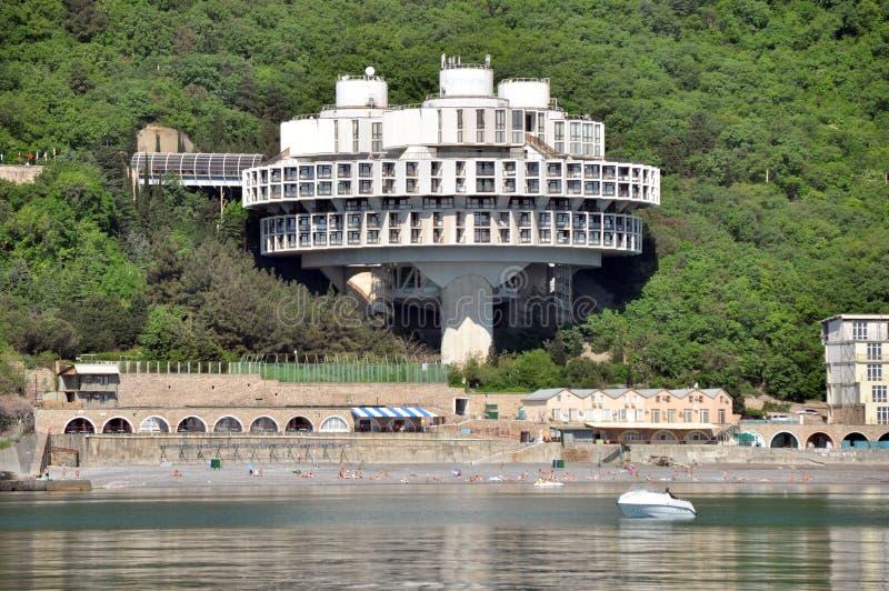 Hotel de Druzhba fotos de archivo