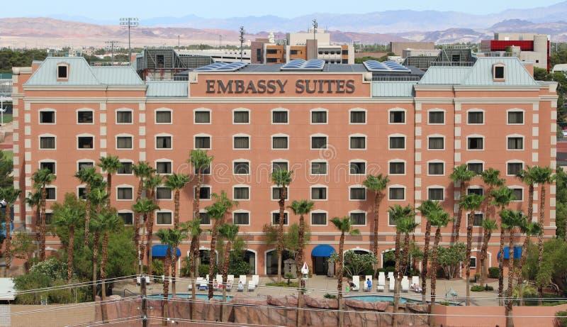 Hotel de Embassy Suites foto de stock royalty free
