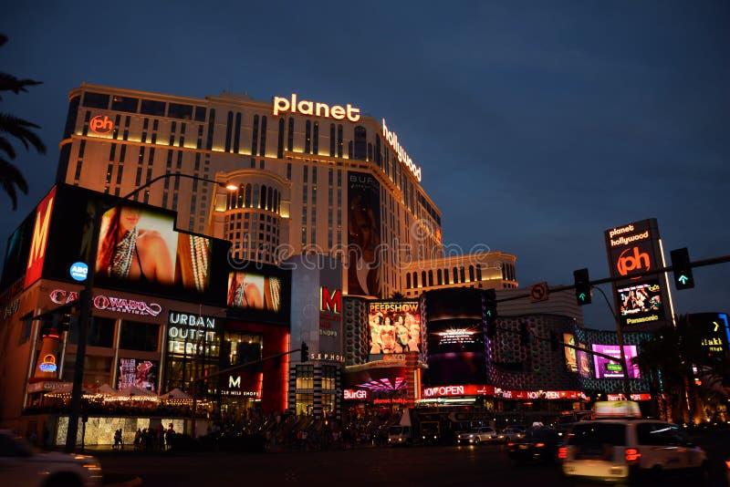 Hotel de Hollywood do planeta fotos de stock royalty free