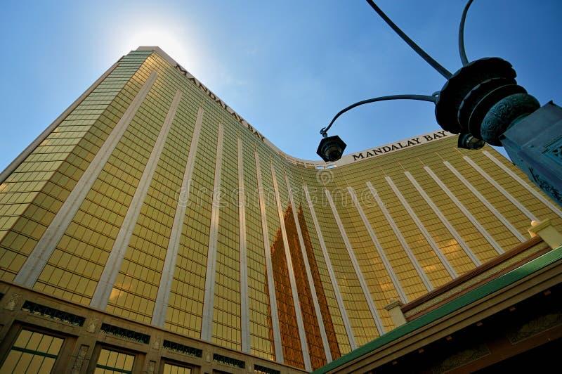 Hotel de la bahía de Mandalay en Las Vegas imágenes de archivo libres de regalías