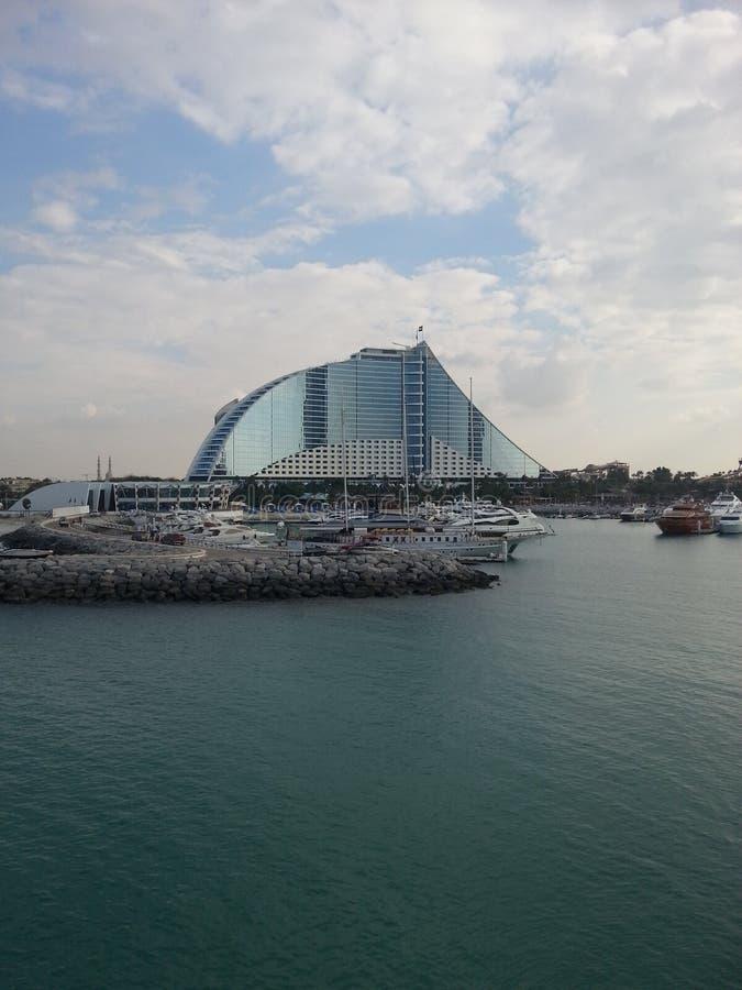 Hotel de la playa de Jumeirah foto de archivo libre de regalías