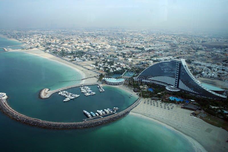 Hotel de la playa de Jumeirah, Dubai imagen de archivo libre de regalías