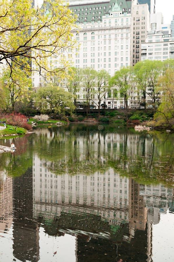 Hotel de la plaza en New York City fotografía de archivo
