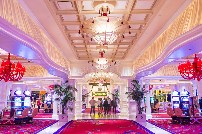Hotel de la repetición de Las Vegas fotos de archivo