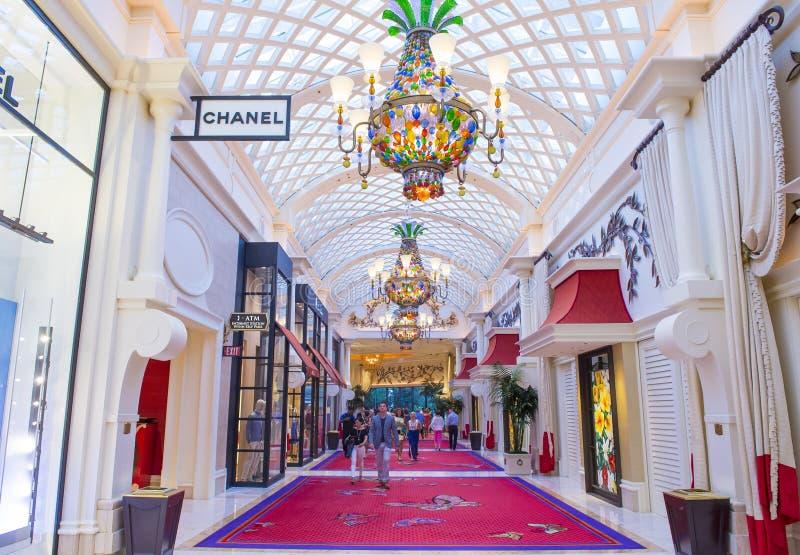 Hotel de la repetición de Las Vegas foto de archivo