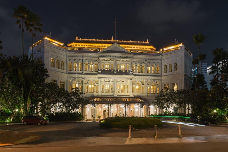 Hotel de las rifas en Singapur fotos de archivo libres de regalías