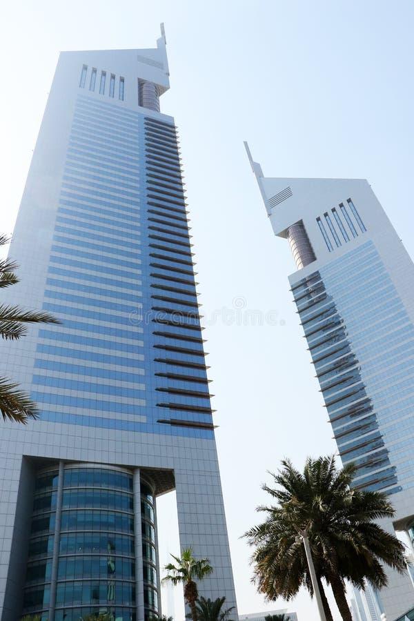 Hotel de las torres de los emiratos de Jumeirah en Dubai UAE el 29 de septiembre de 2017 imagen de archivo