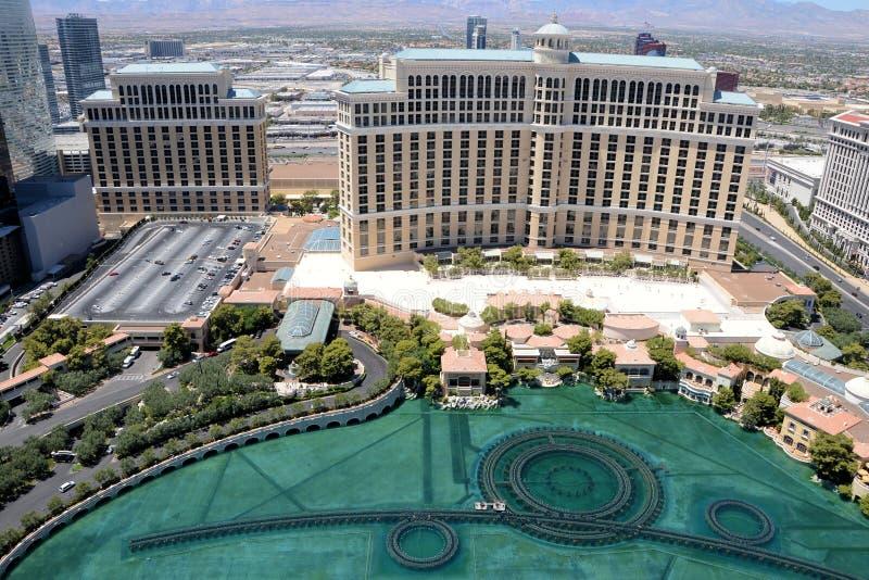 Hotel de Las Vegas Bellagio fotografía de archivo