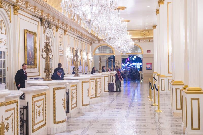 Hotel de Las Vegas, París fotografía de archivo libre de regalías
