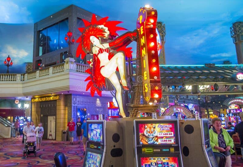 Hotel de Las Vegas, París imagen de archivo libre de regalías