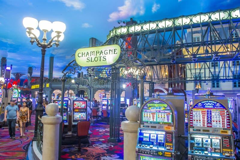 Hotel de Las Vegas, París fotos de archivo