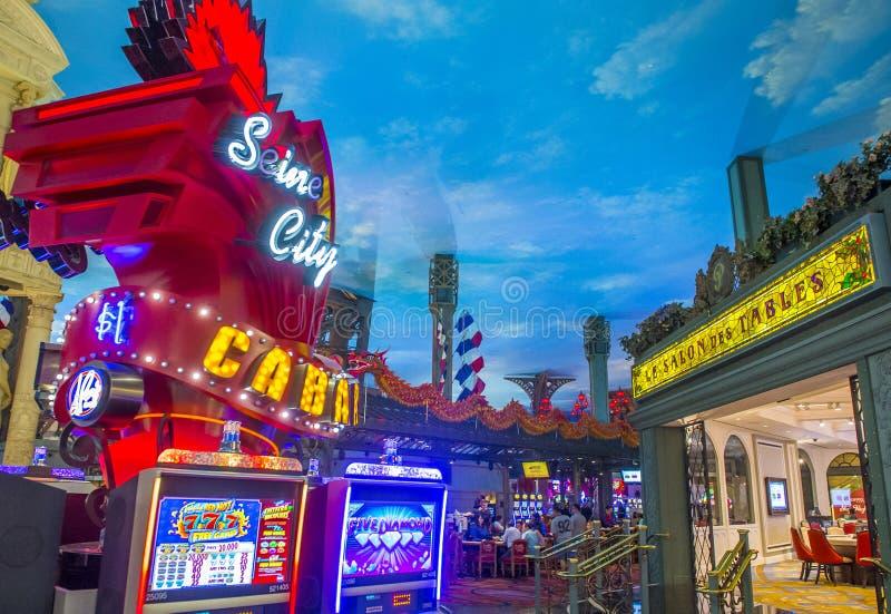 Hotel de Las Vegas, París imagen de archivo