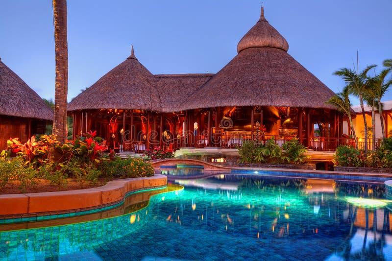 Hotel de Le Touessrock, Maurícia foto de stock royalty free