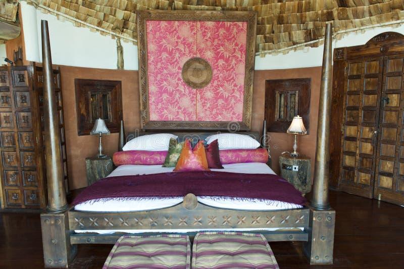 Hotel de lujo del safari en África fotos de archivo