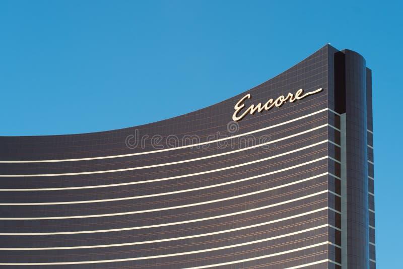 Hotel de lujo y casino de la repetición en Las Vegas fotos de archivo libres de regalías