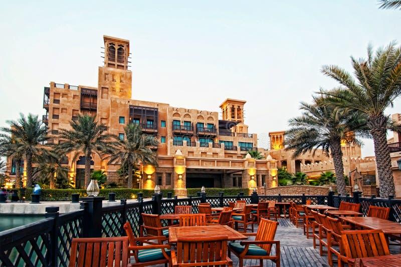 Hotel de luxo de Dubai imagens de stock