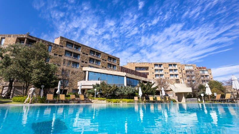 Hotel de luxo em Lesoto imagem de stock royalty free