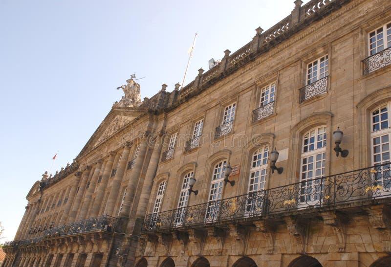 Hotel de luxo em uma construção histórica imagem de stock