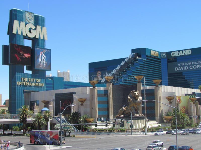 Hotel de Mgm Grand em Las Vegas foto de stock royalty free