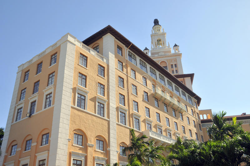 Hotel de Miami Biltmore fotografia de stock