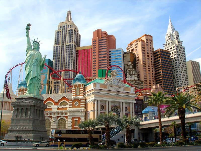Hotel de Nueva York Nueva York, Las Vegas fotografía de archivo