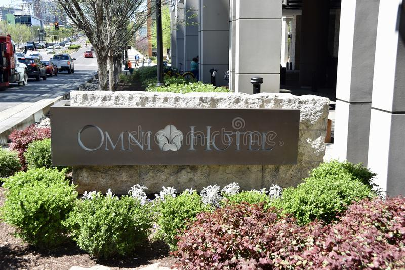 Hotel de Omni, Nashville céntrica, TN imagenes de archivo