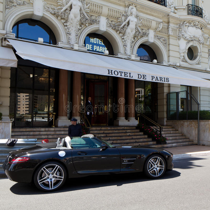 Hotel de Paris royalty free stock photography