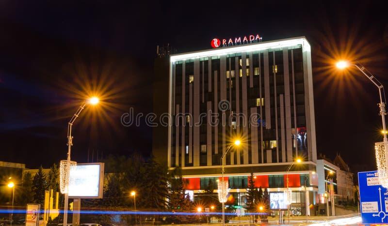 Hotel de Ramada imagen de archivo
